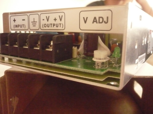 Mean Well converter 12 VDC to 24 VDC 50 W
