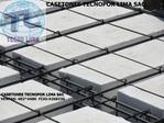caisson - styrofoam bricks