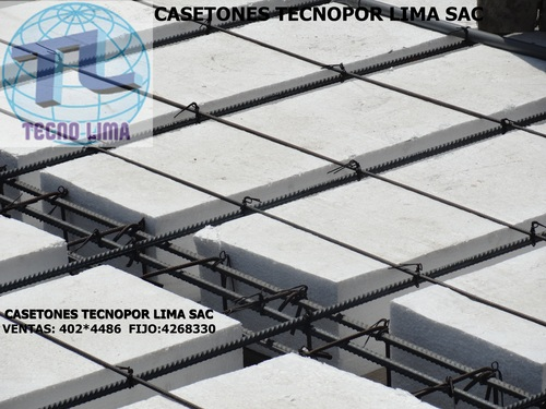 casetones - ladrillos de tecnopor