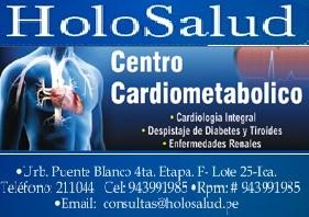 CENTRO CARDIOLOGICO HOLOSALUD