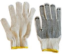 Hilo gloves, gloves with PVC dots on palm and both sides