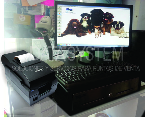 Computergestuurde Kassa Printer + Extra Ticketera