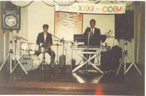 organista con baterista
