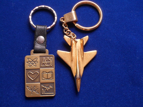 Metal Keychains exclusive models, others.