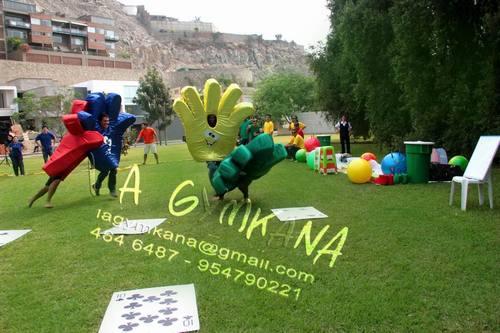 Integracion corporativa, recreación empresarial, Gymkanas y Juegos