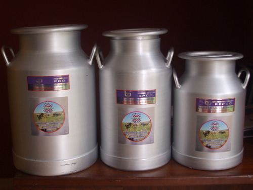 Porongos de aluminio pesado de 15,20,30,40 y 50 litros.
