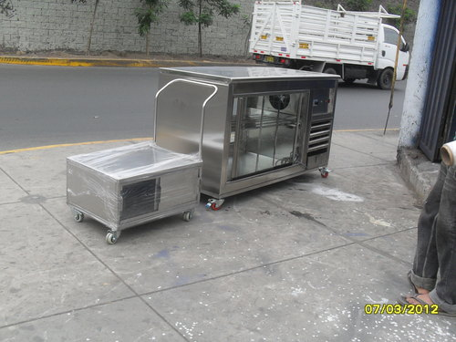 ful refrigerated table vicion