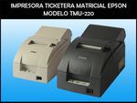 IMPRESORA TIKETERA PARA PUNTOS DE VENTA EPSON TM-U220 / NUEVO