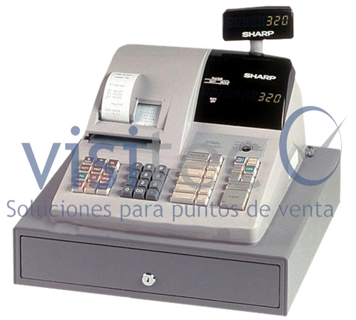 SHARP KASREGISTER 430 SEMINUEVA
