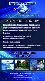 PORTAFOLIO DE SERVICIOS MARKTAINER C.I. S.A.S
