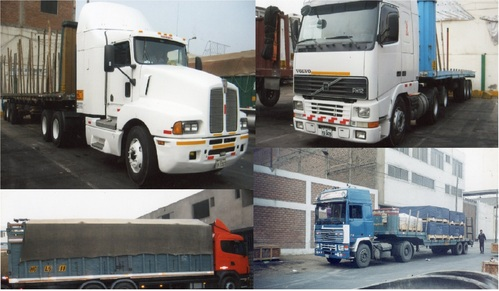 TRANSPORTING AGRICULTURAL MACHINERY ETC
