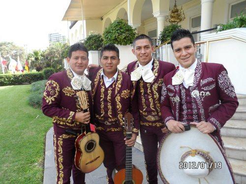 Mariachis Peruvians at Callao, Sones de Mexico Mariachi