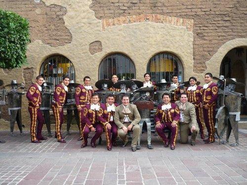 Charros in Lima Peru - Sones de Mexico Mariachi