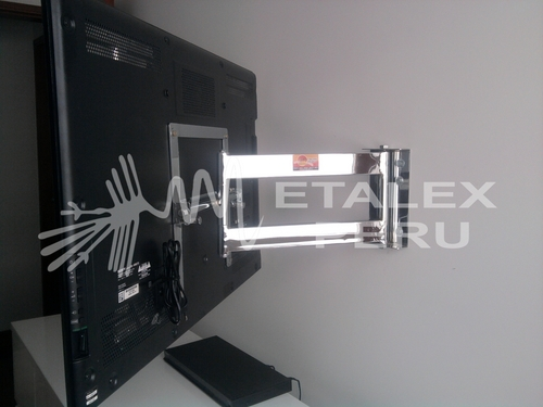 Rack Movible Cromado - Metalex Peru