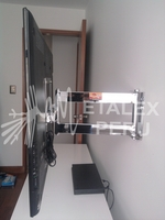 Rack Movible Cromado - Metalex Peru