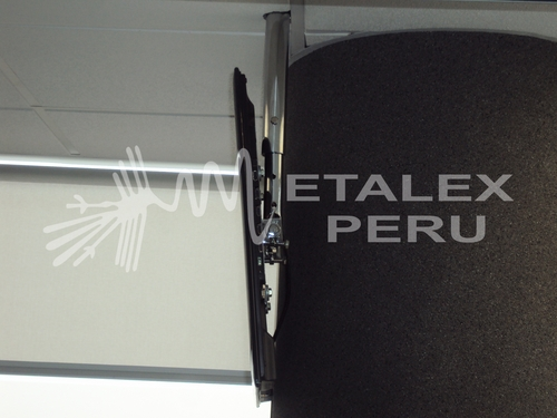 Metalex Peru Rack - Chrome Removable Roof: