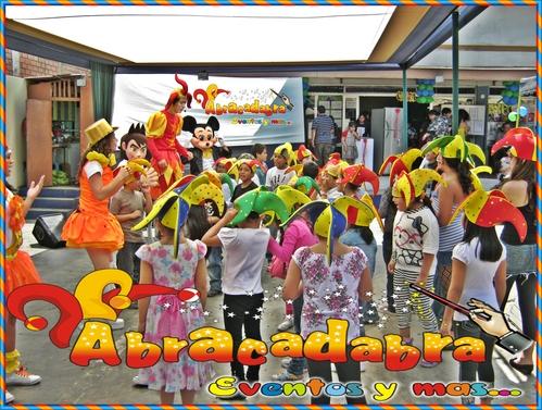 Eventos - Colegios - Nidos - Abracadabra Producciones.