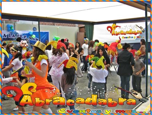 Eventos - Colegios - Nidos - Abracadabra Producciones