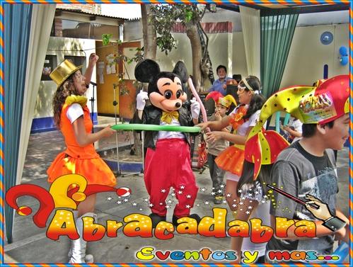 Eventos Infantiles - Colegios - Nidos - Abracadabra Producciones