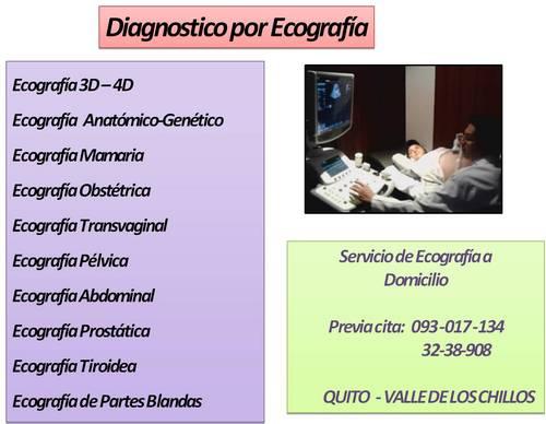 ecografia 3d y ecografía diagnóstica