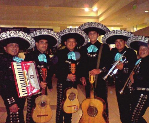 Mariachis in Chorrillos - Sones de Mexico Mariachi