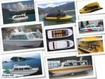 Comfortable, Beautiful and powerful boats to carry passengers