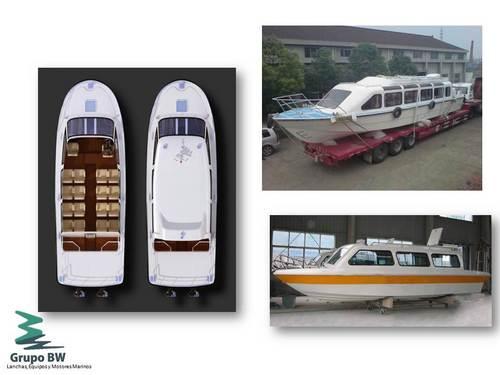 Alquilamos potentes y cómodas lanchas para el transporte de pasajeros