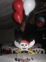 Thematic crazy hours .. Center meza Pirates