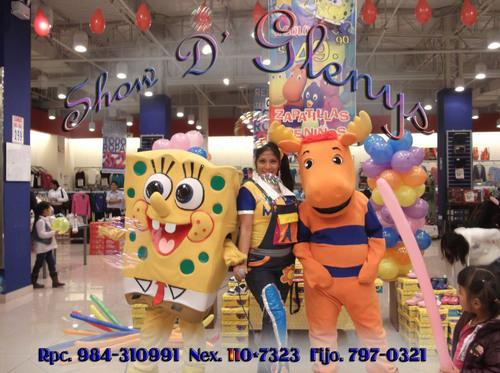 Show Infanti at Plaza Lima Sur
