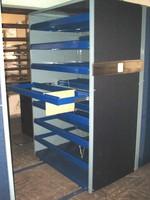Double sliding shelf for Files