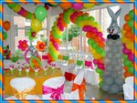 event wedding planner, ballon decoration, party rent, tableclots, line