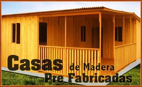 Casa de madera prefabricado