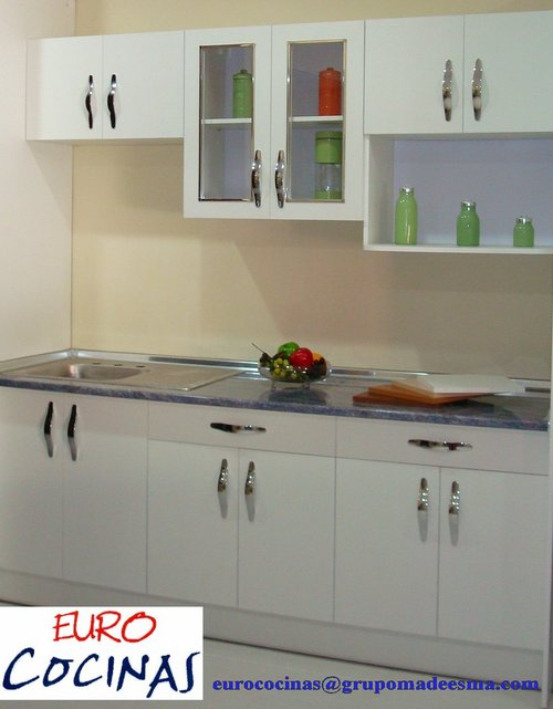 HYDROFUGE WHITE MELAMINE KITCHEN