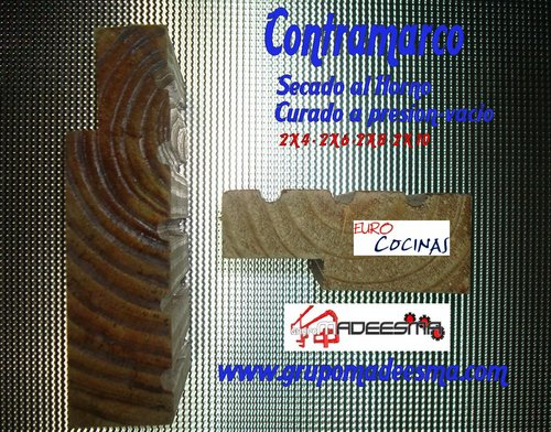CONTRAMARCOS FOR DOORS (DRIED AND CURED)