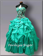Party dress for debutantes.