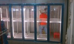 wakin freezer glass doors
