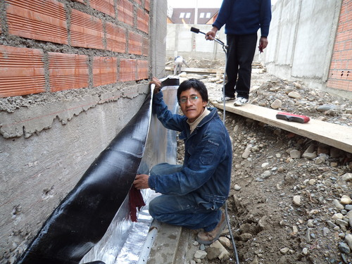 WALL WATERPROOFING