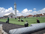 INSTALLATION synthetic turf