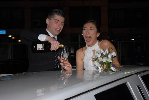 Casamientos, limusina