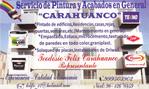 SERVICIO DE PINTURA Y ACABADOS EN GENERAL CARAHUANCO.