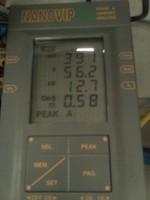 Tests Harmonic Analyzer and Power in Welding Machine