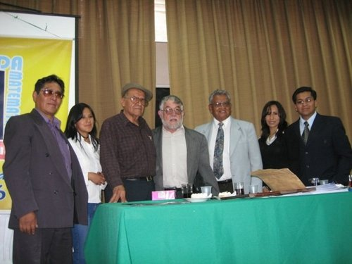 Agreement with the University of Bolivia Saleciana