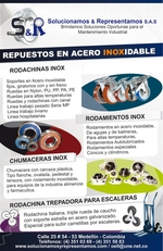 RUEDAS Y SOPORTES INOX