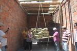 Os testes de estresse de bambu - bambu