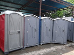 Portable toilets and composting toilets