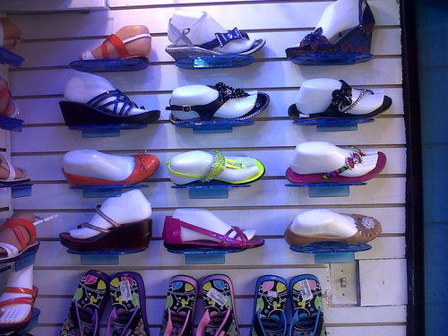 Variety of Sandals from $ 16,000