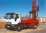 Drilling machine. N-80 Mobile Drill IVECO truck