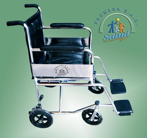 Loop rolstoel Chrome
