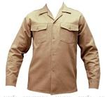Camisa de brim para uniformes de trabalho