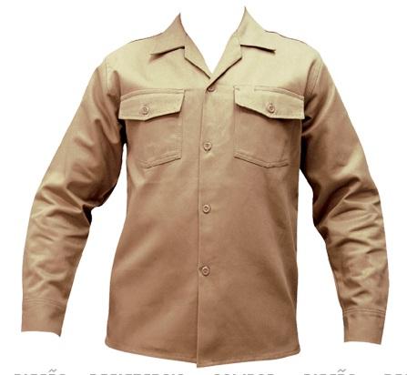 Camisa en Dril para uniformes de trabajo